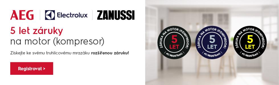 ZÁRUKA 5 LET NA MK - ELX / AEG / ZANUSSI FREEZERS